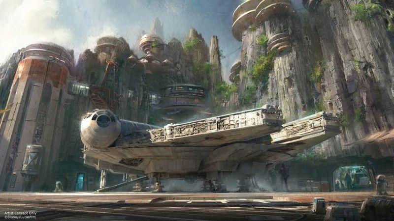 Disneyland in Anaheim, California plans to open a Star Wars-themed park. ― AFP pix