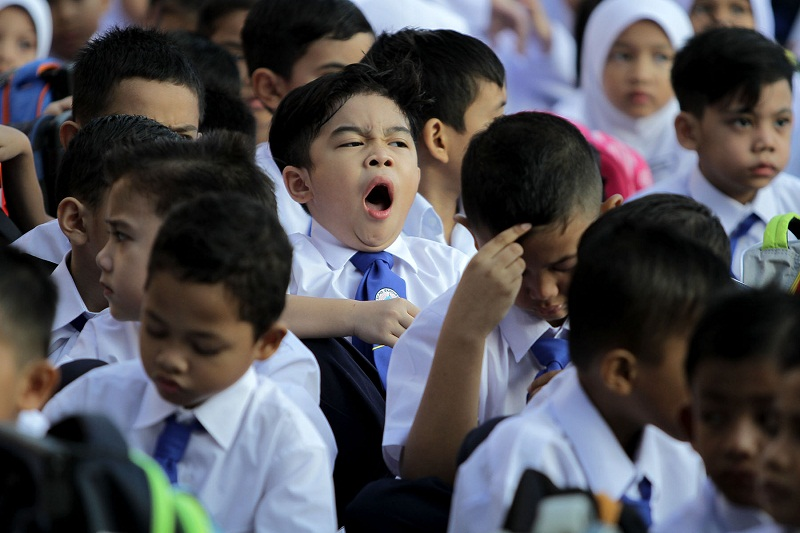 Mahdzir said that students in public schools are already learning about the country's diverse religions through a variety of subjects. — Picture by Yusof Mat Isa