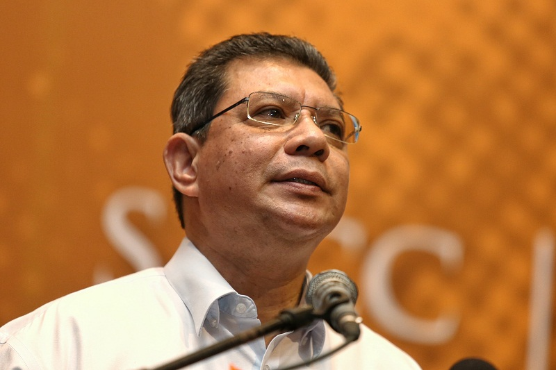 Datuk Saifuddin Abdullah says Malaysians should protest #MuslimBan because it's against religious freedom and human rights. — Picture by Saw Siow Feng