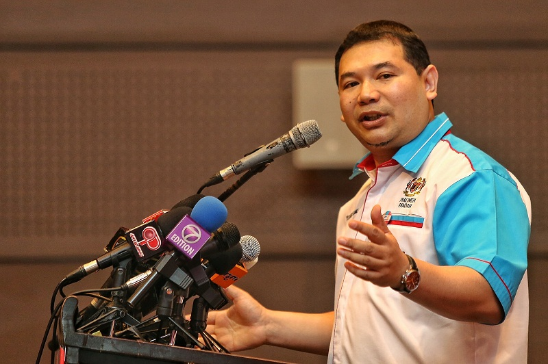 The court has ruled that Rafizi Ramli is guilty of insulting Umno members in an article published by The Edge Financial Daily in 2014. ― File pic