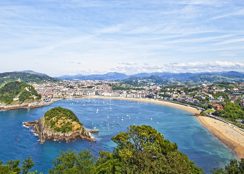 San Sebastian tops the Caterwings list of the world's top 100 cities for food. — AFP pic