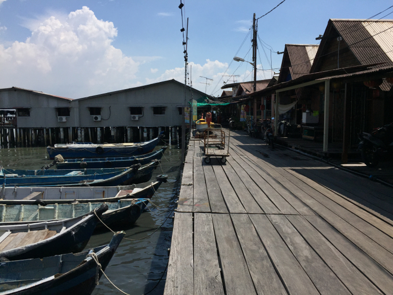 File picture of the Chew Jetty in Penang. A total of RM175,000 has been allocated through the Tanjong Member of Parliament's office to carry out repair and upgrading works of the Tan Jetty off Weld Quay. — Picture by KE Ooi