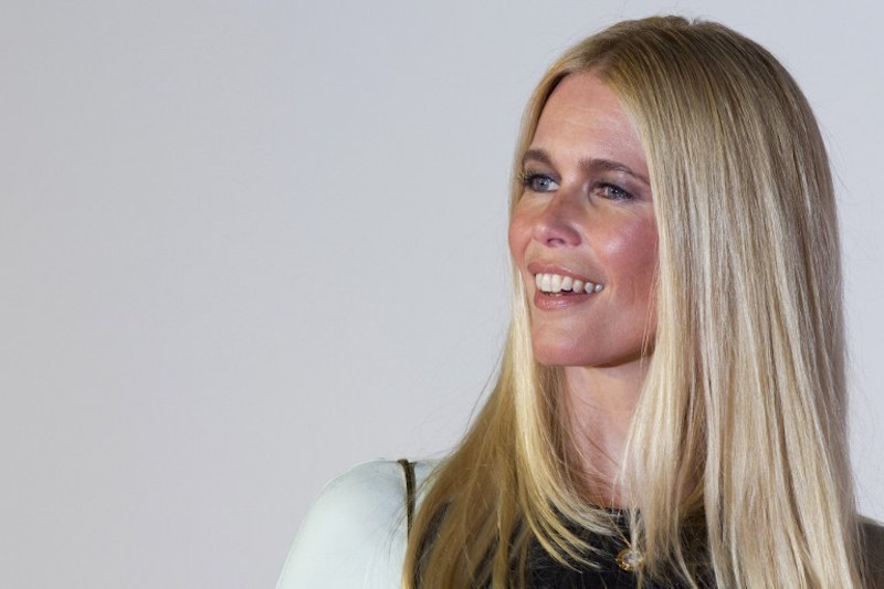 German supermodel Claudia Schiffer at the US premiere of 'Rocketman' on May 29, 2019 at Alice Tully Hall in New York — AFP pic