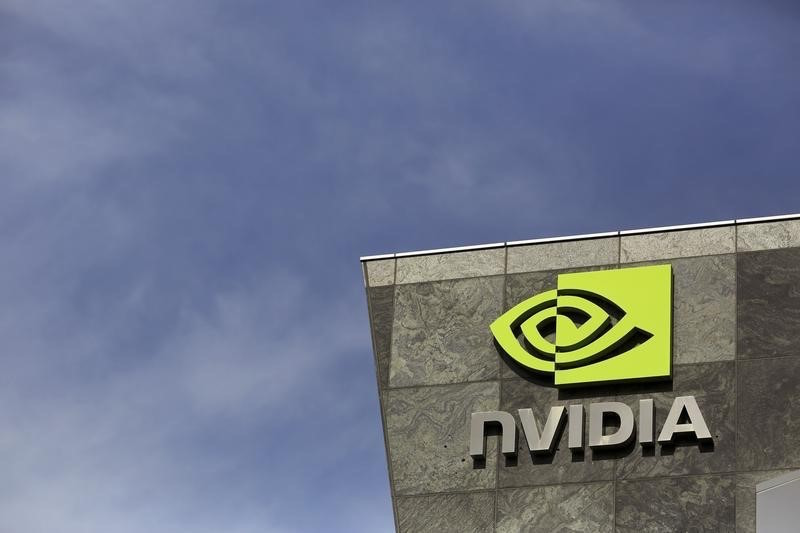 Nvidia got its start supplying chips to improve videogame graphics on personal computers, but in recent years much of its growth has come from the use of its chips for artificial intelligence, self-driving cars and other new areas. — Reuters pic