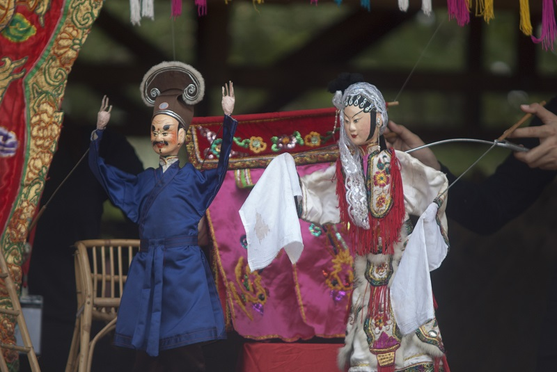 Each puppet takes about two to three weeks to make and is hand-crafted from wood, clay and paper. — Picture courtesy of Pusaka