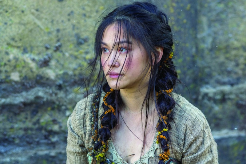 Dianne Doan as Yidu in Vikings Season 4. — Picture courtesy of  TM PRODUCTIONS LIMITED / T5 VIKINGS PRODUCTIONS INC