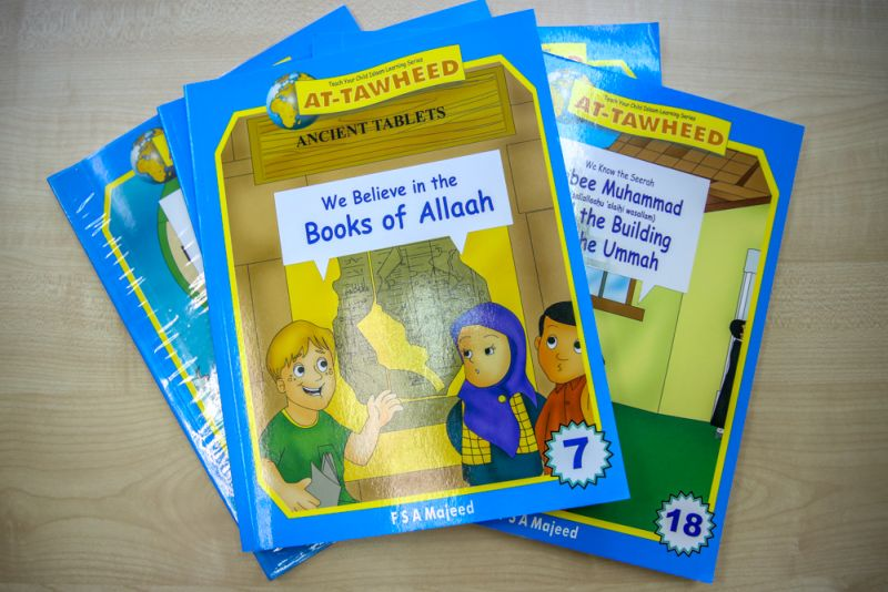 Children's Islamic books at Greenview. ― Picture by Saw Siow Feng