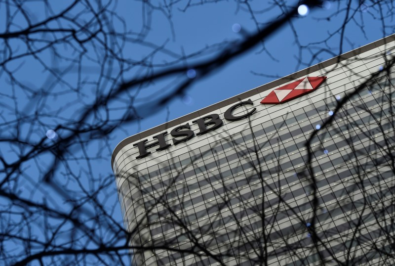 The HSBC headquarters is seen in the Canary Wharf financial district in east London February 15, 2016. — Reuters pic