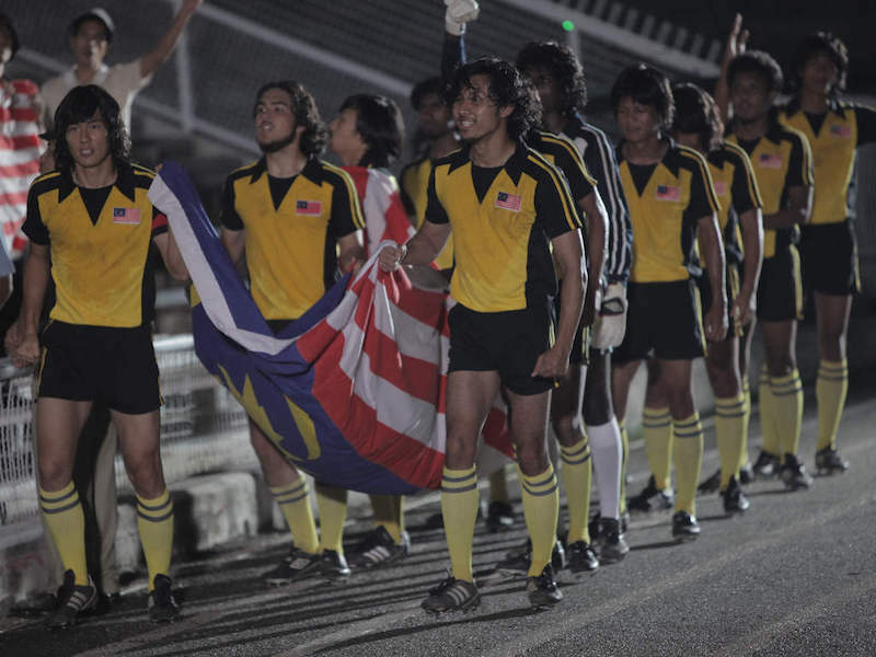 'Ola Bola' follows a multicultural team of Malaysian football players in the '70s as they go from zero to hero. — Handout via CinemaOnline