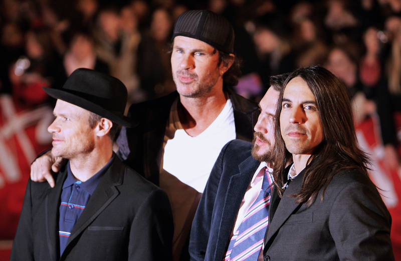 The Red Hot Chili Peppers seen here in 2007. ― AFP pic via ETX Studio