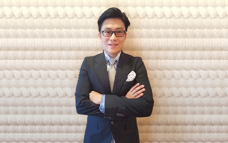Lawyer Lai Chee Hoe set up BurgieLaw last November. — Picture courtesy of Lai Chee Hoe