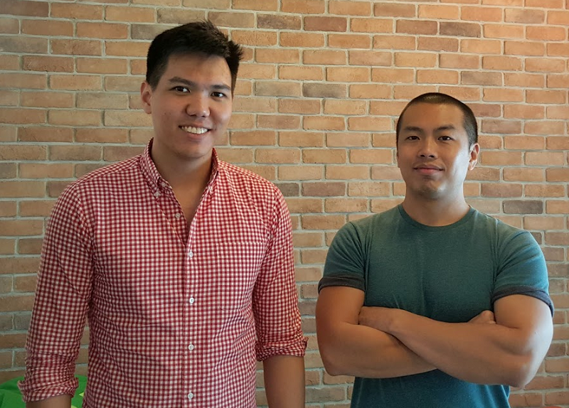 LawCanvas founders Daniel Leong (left) and Mark Png (right). — Picture courtesy of Daniel Leong