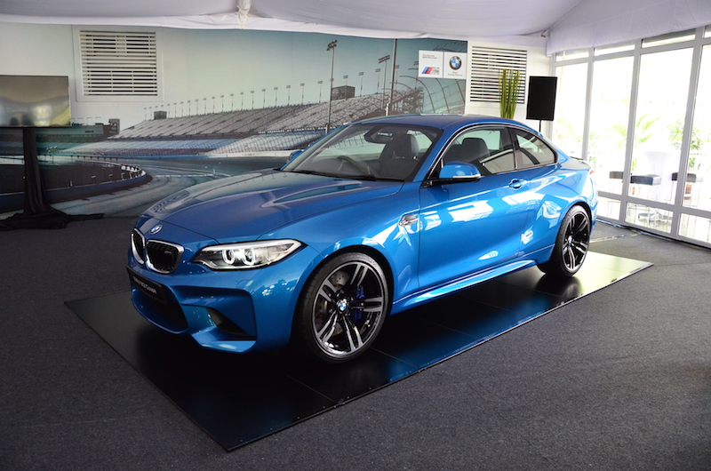 BMW Malaysia has unveiled the M2 Coupe, a pocket rocket built in the spirit of M cars, guaranteed to satisfy and driving enthusiast. — Pictures by YS Khong