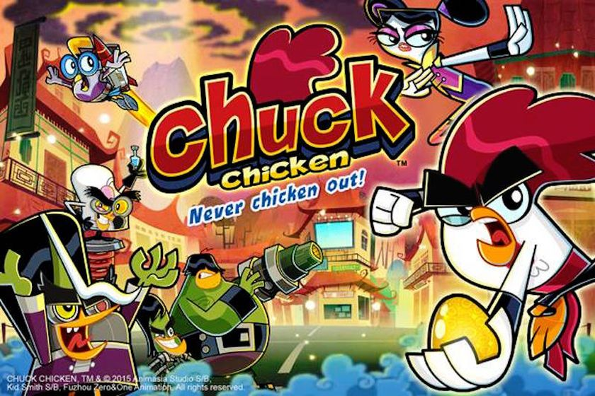 'Chuck Chicken' is a popular animation TV series in Asia and the Middle East. — Handout via CinemaOnline