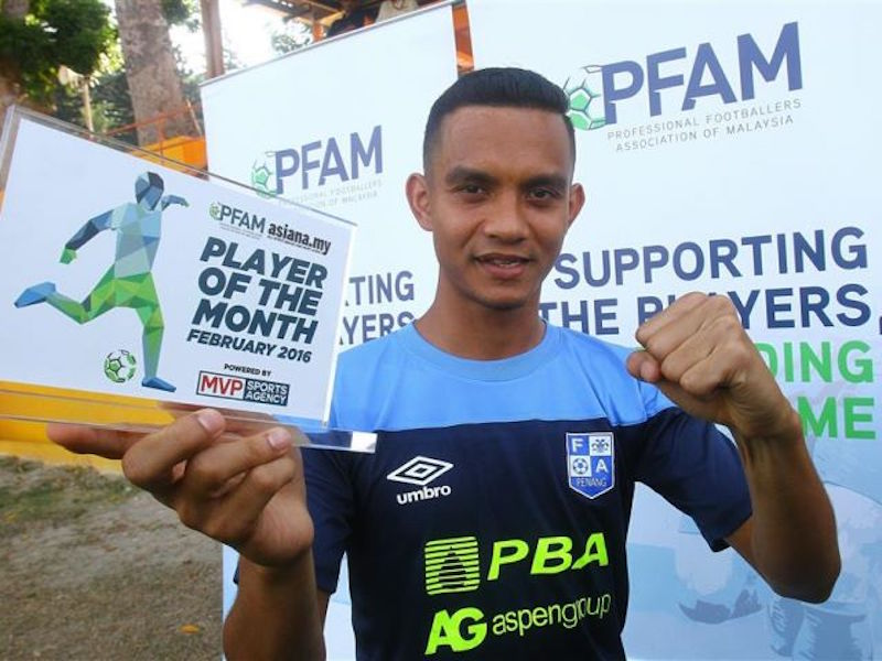FAM said Faiz Subri's wonder goal is now in the running to be one of the finalists for Fifa Puskás Award 2016. — TheHive.Asia pic