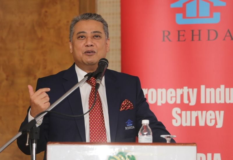 Datuk Seri FD Iskandar says Rehda's survey found that loan rejection was the number one obstacle for developers in the second half of 2015. ― Picture by Choo Choy May