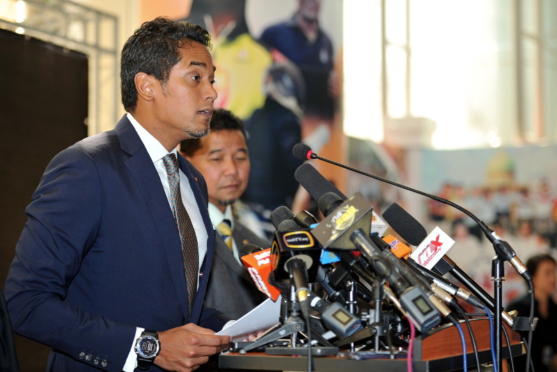Youth and Sports Minister Khairy Jamaluddin warns that the government will have to fork out more for pensions with an expected increase in life expectancy. — File pic
