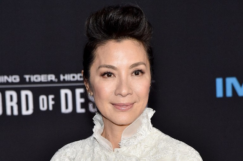 Tan Sri Michelle Yeoh attends the premiere of Netflix's 'Crouching Tiger, Hidden Dragon: Sword of Destiny' Universal City, California, February 22, 2016. — AFP pic