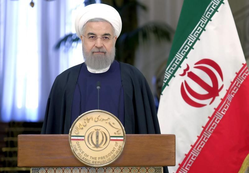 Iran's President Hassan Rouhani called on Middle East states today to 'drive back Zionism'. — Reuters pic