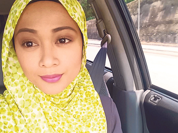 Actress Faye Kusairi's home was broken into by Jais officers in the early hours of April 10... after a false complaint of khalwat. — Instagram picture/Faye Kusairi