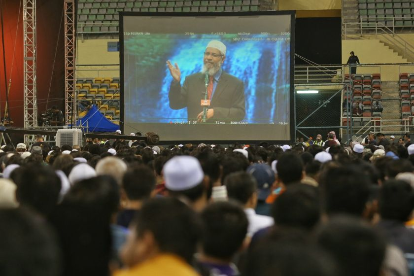Dr Zakir is wanted in India on charges of money laundering and terror-related incitement. ― Picture by Saw Siow Feng