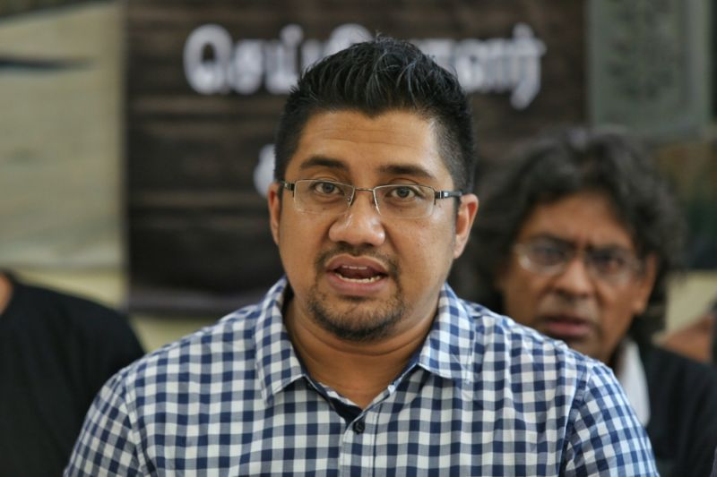 Badrul (pic) denied that he was involved with a former researcher to tarnish Datuk Seri Anwar Ibrahim's name. ― Picture by Saw Siow Feng