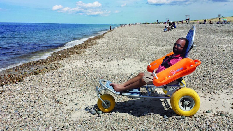 Srin Madipalli isn't letting his disability stop him and other disabled travellers from exploring the world by setting up Accomable. — Handout via Today