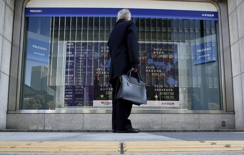The Nikkei 225 index slipped 0.12 per cent before quickly recovering to positive territory to hover around 23,494.64, up 0.07 per cent or 15.49 points, in early trade. — Reuters pic