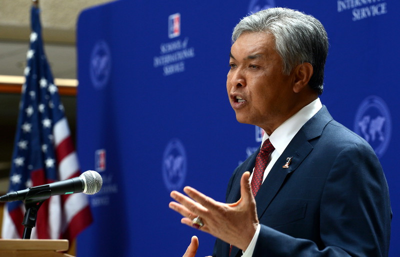 Deputy Prime Minister Datuk Seri Dr Ahmad Zahid Hamidi stressed the importance of the role of the media in educating the public via news reports and exposés. — File pic