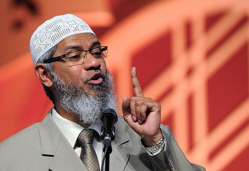 Dr Zakir Naik has been living in Malaysia since 2016 where he is a permanent resident. — Bernama pic