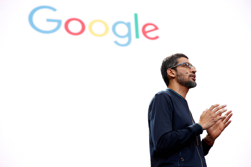 Pichai now has his first big chance to make his mark on Alphabet leadership since Page and Brin left him day-to-day reins of the company last month. — Reuters pic