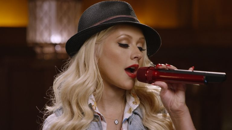 Christina Aguilera's online singing class is now open for enrolment. — AFP pic