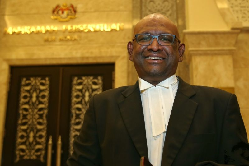 Lawyer K. Shanmuga said his client will wait for the Federal Court decision on the ruling. ― Picture by Saw Siow Feng
