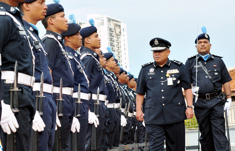 Datuk Abd Jalil Hassan is among 20 senior police officers involved in a transfer exercise July 13, 2019. — Bernama pic