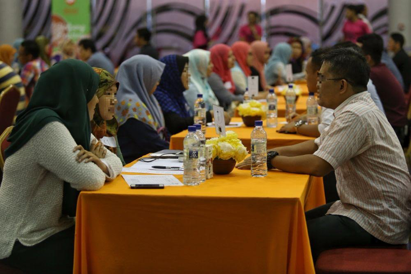 Over nine sessions, including the latest in Kuala Lumpur on May 14, 2016, three couples were successfully matched, according to organisers of the halal speed dating events. — Pictures by Saw Siow Feng