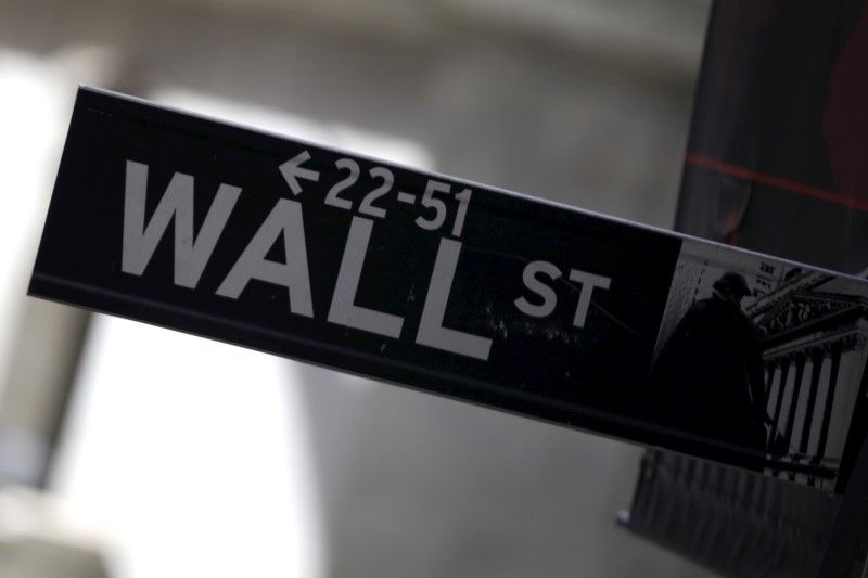 A Wall Street sign is seen in Lower Manhattan in New York January 20, 2016. — Reuters pic