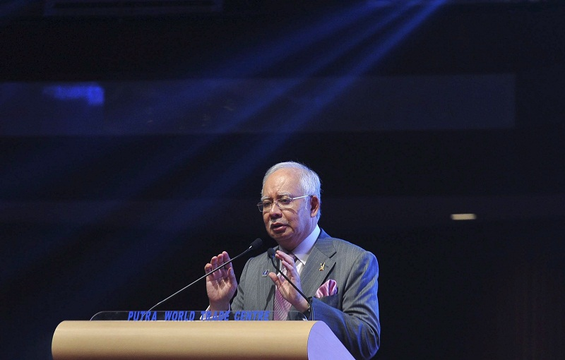 Datuk Seri Najib Razak says National Security Council Act 2016 is set to be in force on August 1 this year. — Foto Bernama
