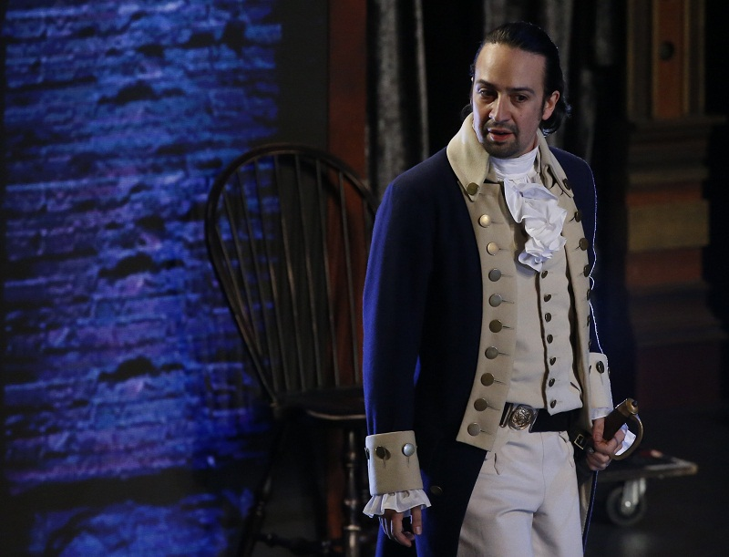 Lin-Manuel Miranda from 'Hamilton' performs during the American Theatre Wing's 70th annual Tony Awards in New York, US, June 12, 2016. — Reuters pic