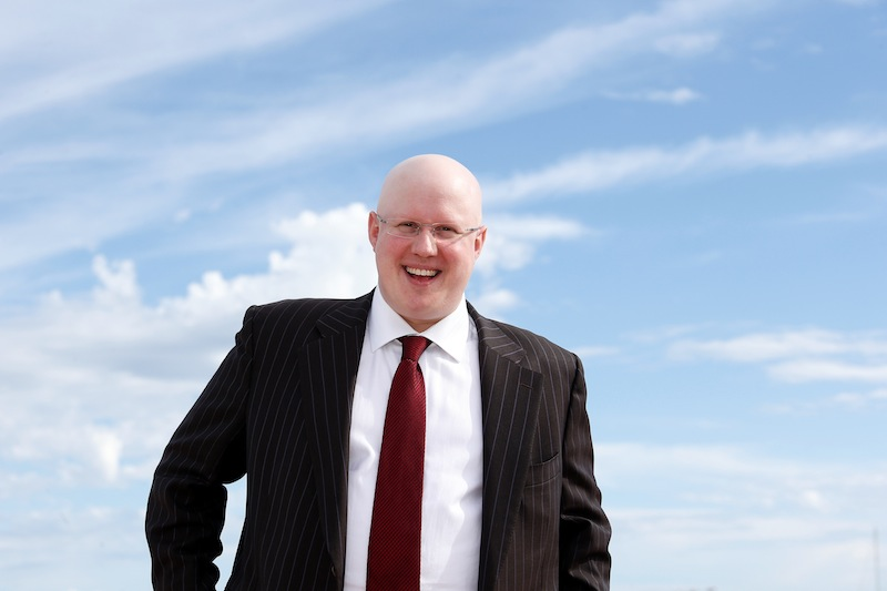 Gay British comedian Matt Lucas, patron of Arsenal's Gay Gooners supporters' group. — AFP pic