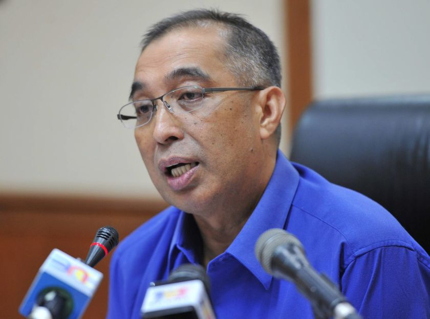 Datuk Seri Dr Salleh Said Keruak said a large part of the DoJ statement on July 20 and last Thursday talked about what was happening internally in Malaysia, and an even larger part had no relevance to the subject of whether a crime had been committed on US soil as alleged. — Bernama pic