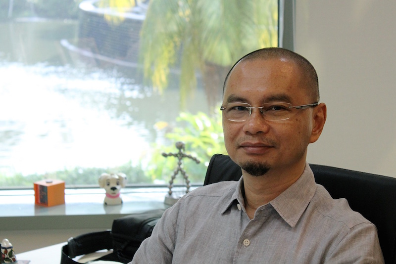 Ideate Media chief executive officer Zainir Aminullah. — Digital News Asia pic