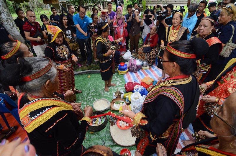 Bobohizans preserve the unique beliefs of the Kadazan people.