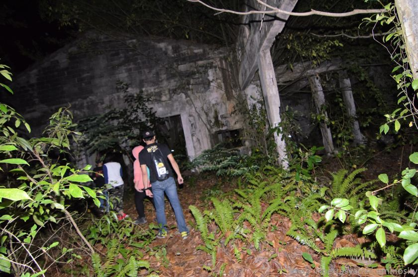 Ghost hunters in Sabah explore abandoned buildings, grave yards and historical sites among others to look for spirits that may be dwelling there. — Picture courtesy of Sabah Underground Paranormal.