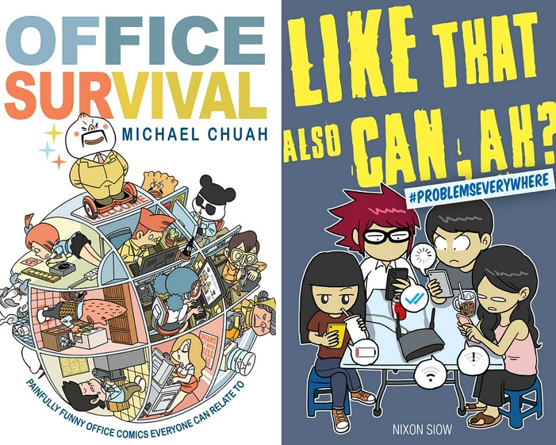 Two of the English comic books that will be released by Keropok Comics. — Picture courtesy of Keropok Comics