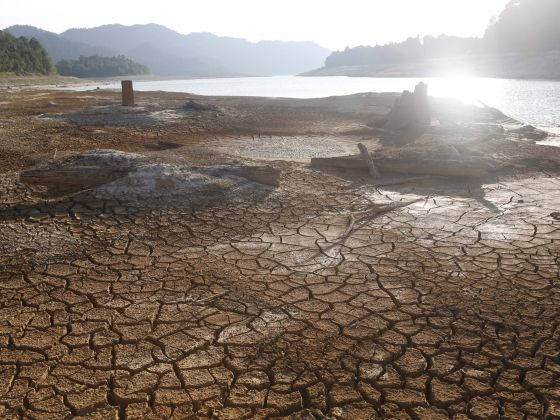 The Linggiu Reservoir, which allows Singapore to reliably draw water from the Johor River, is at 'significant risk' of running out of water this year if 2017 turns out to be a dry year. — TODAY file photo