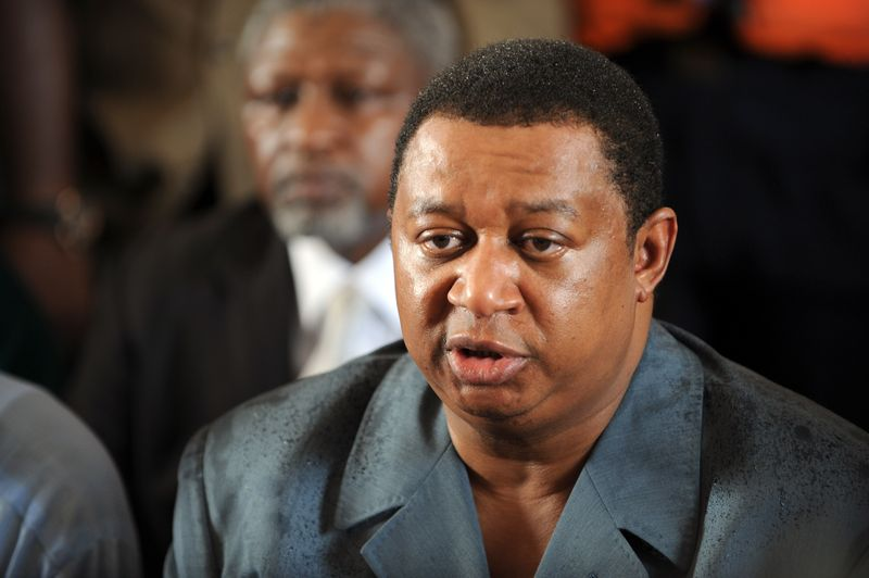 Nigeria's Mohammed Barkindo said civil society was 'being misled' about oil contributing to climate change. — AFP pic
