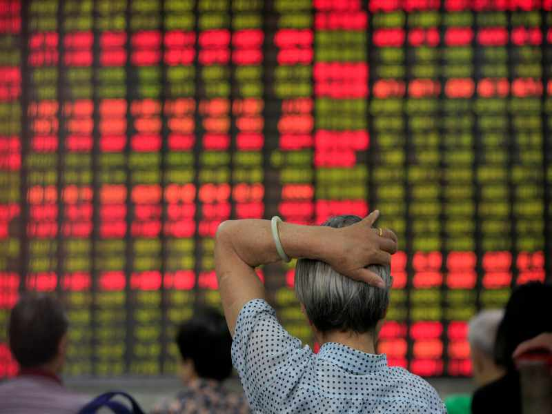Asian stocks overnight gained support on China trade data that showed exports in dollar terms rose more that 30 per cent in March from a year earlier, short of expectations. Imports jumped 38 per cent, the fastest pace in four years, suggesting a post-pandemic recovery in Chinese spending. — Picture by Reuters