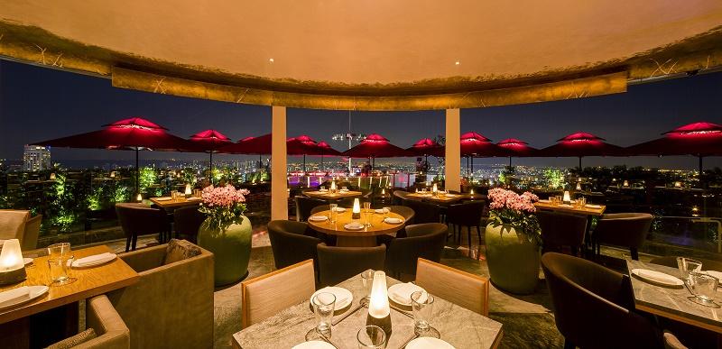 Cé La Vi restaurant interior. — Pictures courtesy of World Of Diamonds / Cé La Vi