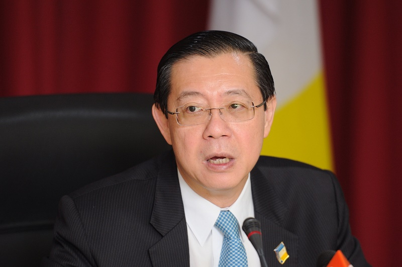 Penang Chief Minister Lim Guan Eng faces two corruption charges in court. — Picture by K.E.Ooi