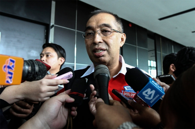 Datuk Seri Dr Salleh Said Keruak says the Best Film Award category at the Malaysia Film Festival is open to all film industry players in the country. ― File pic